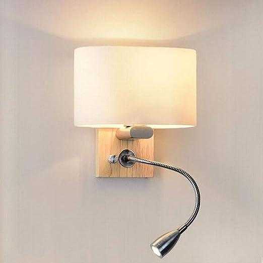 DNACC Lampe Murale Moderne Applique de Chevet Avec Lampe de