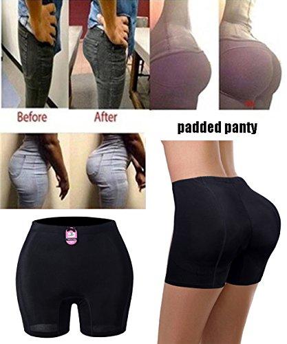FLORATA Women Butt Booty Lifter Shaper Bum Lift Pants Buttocks Enhancer Boyshorts Briefs by FLORATA (Image #1)