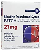 Habitrol Nicotine Transdermal System Step 1 Patch 21mg 14's - by Habitrol