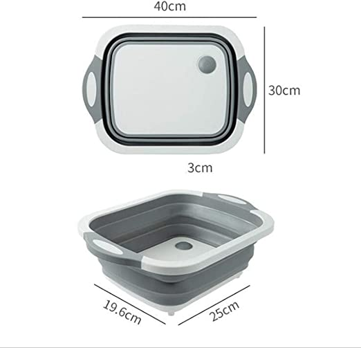 Portable Foldable Bucket Outdoor Camping Vegetable Fruit Cleaning Basin Heiß