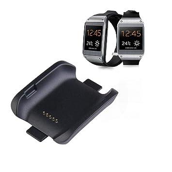 Pulsera Inteligente, Cargador del Muelle de Carga + Cable de Carga USB para el Reloj Inteligente Samsung Galaxy Gear Fit SM-V700: Amazon.es: Electrónica