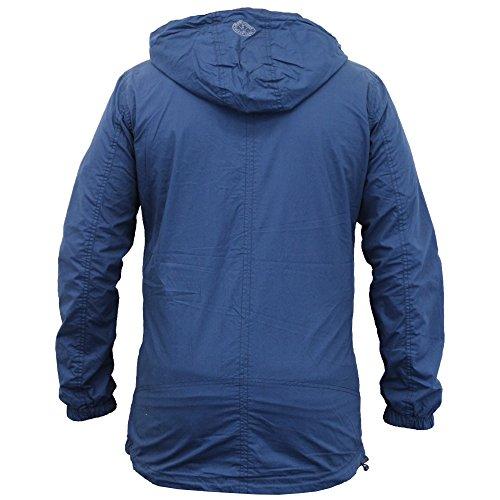 Giacca Nuovo Vento Con Jeans Zip Estate Da Esh Crosshatch Uomo Casual A Mithy Cappuccio Foderato rqtrx7Xgw