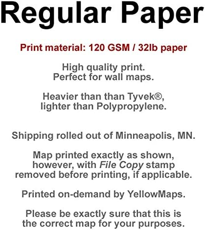 B07L2TZ7WG YellowMaps Iceberg Canyon NV topo map, 1:24000 Scale, 7.5 X 7.5 Minute, Historical, 1983, Updated 1984, 26.8 x 22 in 811YGcowEoL