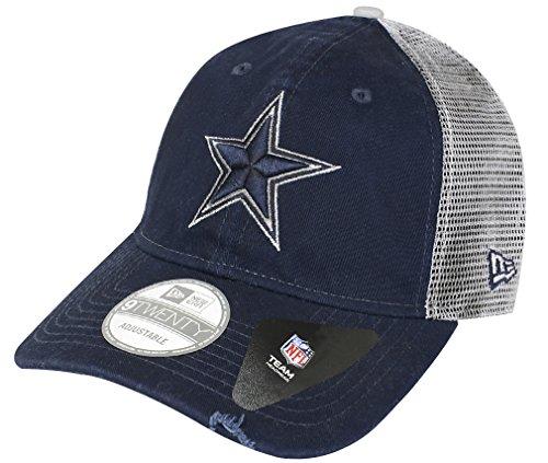 reputable site fc1da bd8da Dallas Cowboys New Era 9TWENTY Team Rustic Trucker Mesh Adjustable Hat   Cap