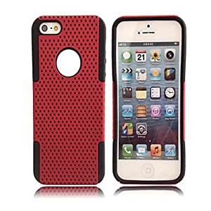 2-in-1 Fashion Simple Grid Case for iPhone 5
