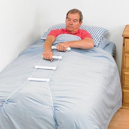 Patterson Medical escalera de soga Grúa Cama - Ayuda sentado en la cama: Amazon.es: Hogar