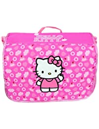 "Hello kitty School Messenger Bag (Size 14"", Pink)"
