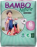 Bambo Nature Baby Training Pants CLASSIC, Size 6 (40+ lbs), 18 Count