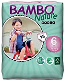 Bambo Nature Premium Baby Training Pants, Size 6, 18 Count
