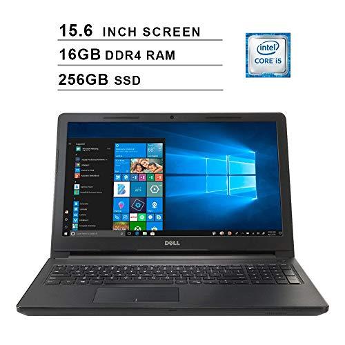 2019 Premium Flagship Dell Inspiron 15 3000 15.6 Inch HD Laptop (Intel Core i5-7200U up to 3.1GHz, 8GB DDR4 RAM, 256GB SSD, WiFi, Bluetooth, Windows 10)
