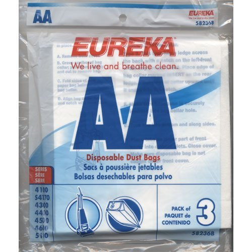 eureka vacuum bag sets - 6