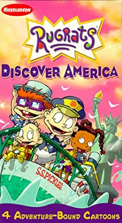 Amazoncom The Rugrats Discover America Vhs Elizabeth Daily