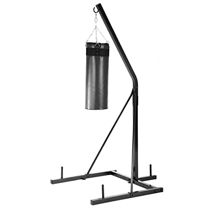 amazon com bestmassage heavy duty standing boxing bag stand