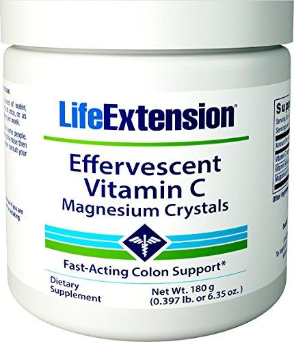 Airborne C Vitamin (Life Extension Effervescent Vitamin C-Magnesium Crystals, 180 grams)