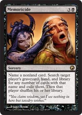 Magic: the Gathering - Memoricide - Scars of Mirrodin - Foil