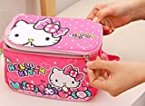 CJB Hello Kitty Lovely Insulated Lunch Bag Rose Pink Candy (US Seller)