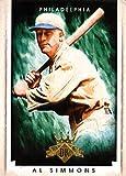 2015 Diamond Kings Baseball Card #5 Al Simmons NM-MT