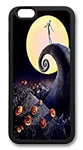 """IMARTCASE iPhone 6 Case, Halloween Nightmare iPhone 6 4.7"""" Case TPU Rubber Soft Durable Case Back Cover for Apple iPhone 6 Black"""