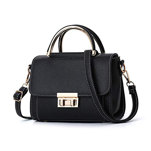 XULULU de satchel bolsa Shoulder Deportes hombro Single Black Outdoor minimalista Ocio bag Bag nxYArqYwXR