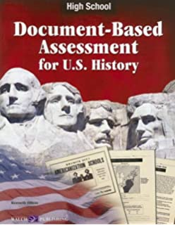 Amazon teaching and using document based questions for middle document based assessment for us history fandeluxe Gallery
