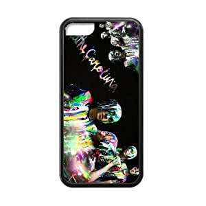 Breathe Carolina Cell Phone Protector for iPhone 5C Plastic and TPU (Laser Technology)