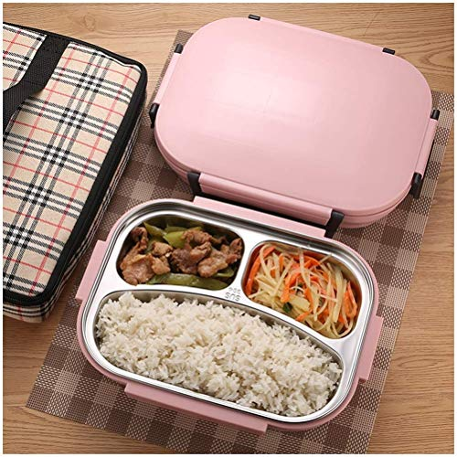 mrGood 304 Stainless Steel Thermos Thermal Lunch Box Whit Bag Set Kid Adult Bento Boxs Leakproof Japanese Style Food Container Portable