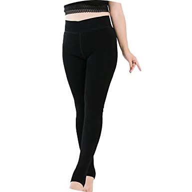 Amazon.com: Leggins de terciopelo para mujer, talla grande ...