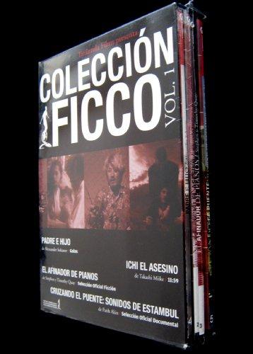 Coleccion FICCO Vol. 1 4-disc boxset: Padre e Hijo (Father and Son) / Ichi El Asesino (Ichi the Killer) / El Afinador de Pianos (The Piano Tuner of Earthquakes) / - Earthquake Piano