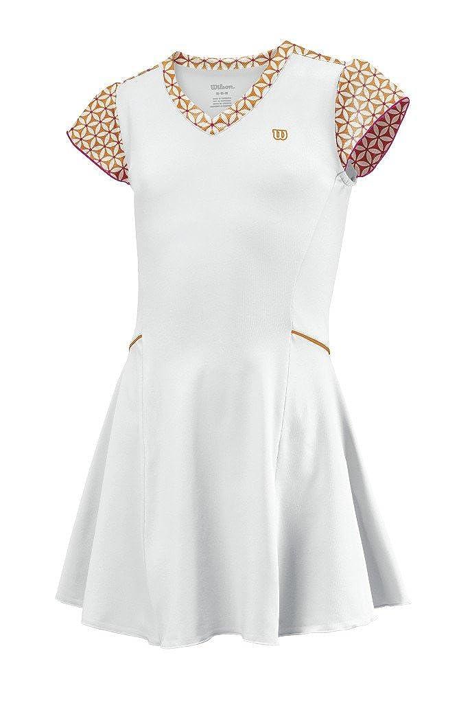 Wilson - Vestido de pádel para niña, tamaño S, Color weiãy: Amazon ...