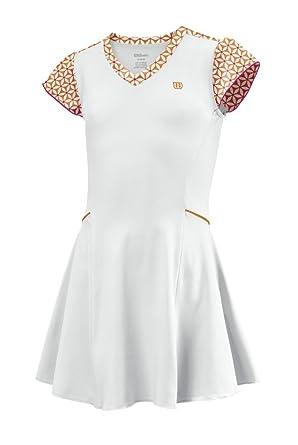 Wilson Vestido de pádel para niña, tamaño S, color weiãy: Amazon.es: Ropa y accesorios