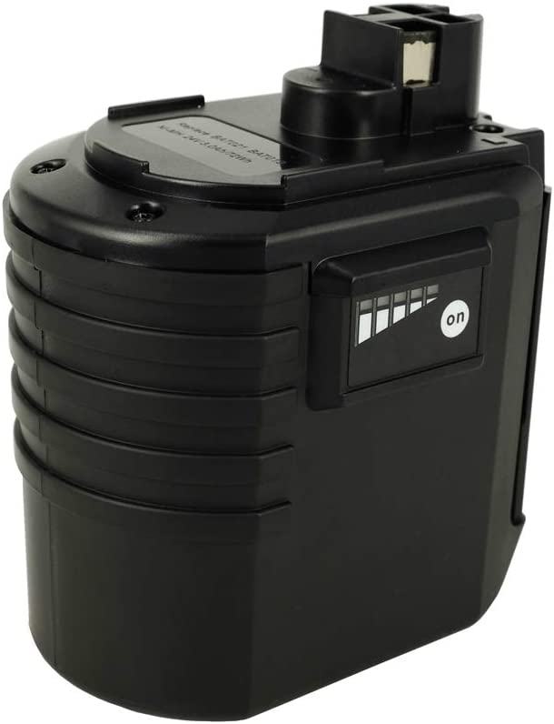 Power Smart® 24V 3000mAh NiMH batería para Würth 07023202, ABH 20SLE, 07023201, 07023202, 07023201, WA 24V, 702300824, 702300824, 0702300924, 702300924, 702300924, apbo/SL 24V, 07023201, 07