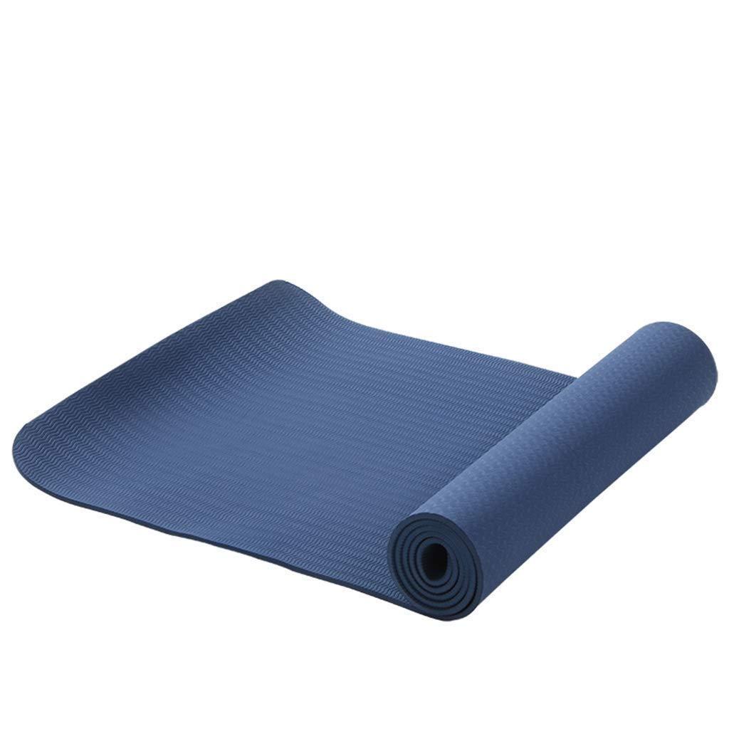 Slip Resistant 5mm Yogavni Pro-Dense Best Heavy Duty Cardio Exercise Workout /& Yoga Mat Burgundy
