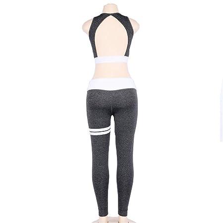 Glhkkp-sp Mono Deportivo de Yoga para Mujer Ropa Deportiva ...