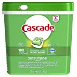 Cascade ActionPacs Dishwasher Detergent Soap With Dawn Grease Fighting Power Fresh Scent 90 Count (Packaging may vary)