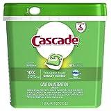 Cascade ActionPacs Savon pour lave-vaisselle avec de la graisse Dawn 90 pièces