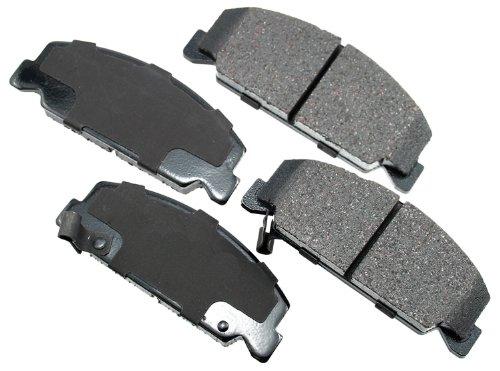 Civic High Performance Brake Pad - Akebono ACT273 ProACT Ultra-Premium Ceramic Brake Pad Set