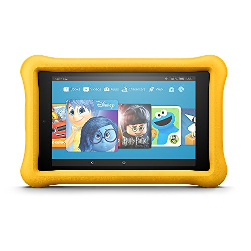 All-New Fire HD 8 Kids Edition Tablet, 8' HD Display, 32 GB, Yellow Kid-Proof Case