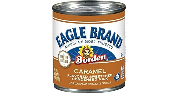 Amazon.com : Eagle Brand Limited Edition Caramel Flavored Sweetened Condensed Milk (6 Pack) : Grocery & Gourmet Food
