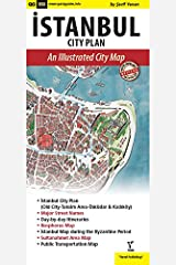 Istanbul City Plan, An Illustrated City Map Map