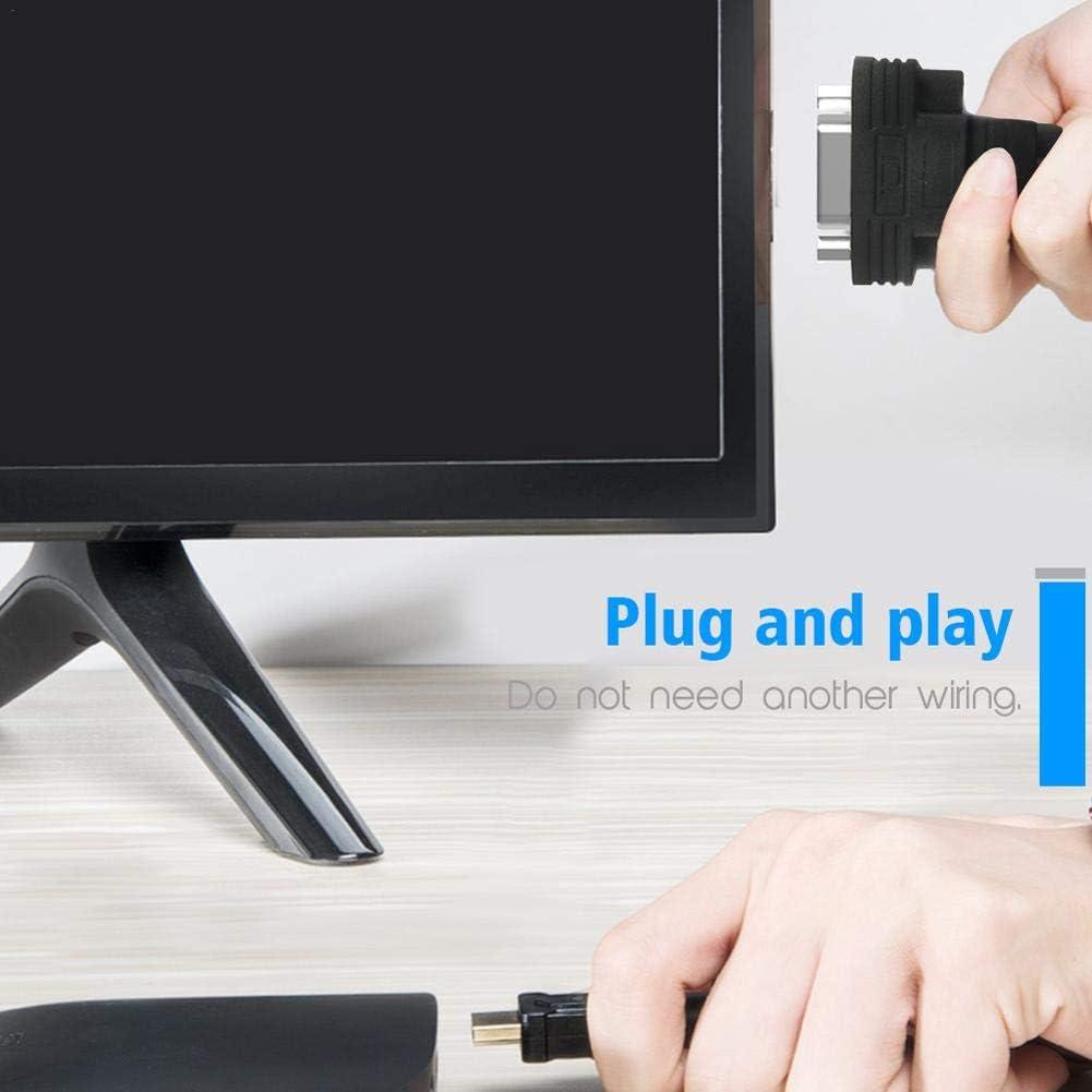 globalqi-electron Notebook TV Box convertidor a VGA soporta Carga 1080p con Cable de Audio Adecuado para HDTV Xbox PS3 PS4: Amazon.es: Electrónica