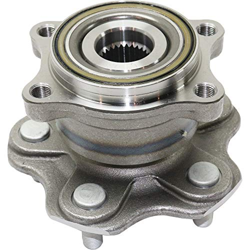 Wheel Hub and Bearing For 2003-2008 Infiniti FX35 Base Model Rear Left or Right With ()