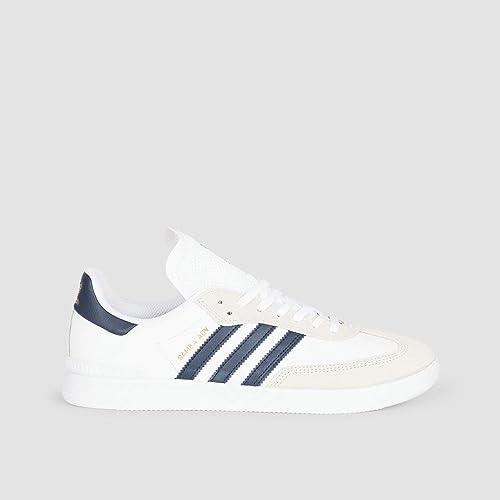 3611ca0242e9 adidas Samba Adv Kids Footwear White Collegiate Navy Gold Metalic Kids 5uk    Footwear