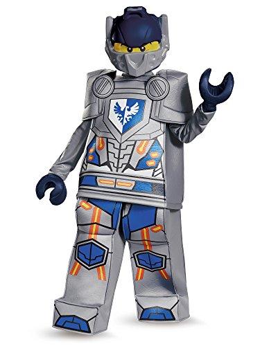 Making Lego Halloween Costume (Clay Prestige Nexo Knights Lego Costume,)