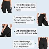 High Waist Yoga Pants with Pockets for Women