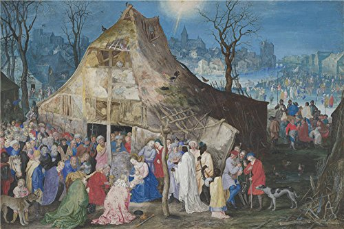 [The High Quality Polyster Canvas Of Oil Painting 'Jan Brueghel The Elder The Adoration Of The Kings ' ,size: 16 X 24 Inch / 41 X 61 Cm ,this Beautiful Art Decorative Canvas Prints Is Fit For Nursery Artwork And Home Decoration And Gifts] (War Machine Costume Tutorial)
