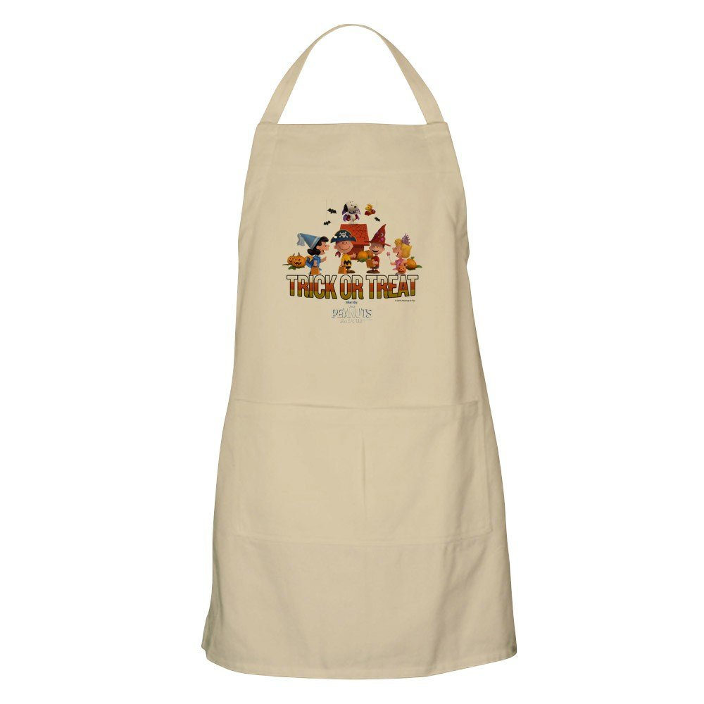 CafePress - The Peanuts Movie - Trick Or Treat Apron - Kitchen Apron with Pockets, Grilling Apron, Baking Apron