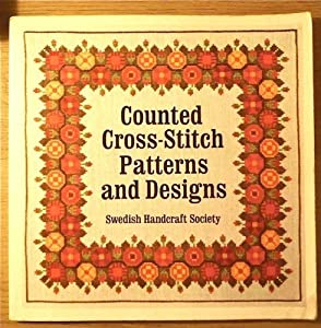 Paperback Counted Cross-stitch Patterns and Designs Book
