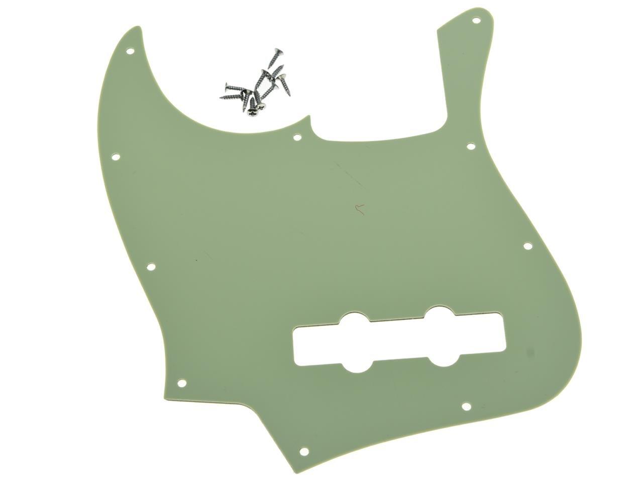 KAISH Jazz Bass J Bass Pickguard fits USA//Mexican 4 String Fender Jazz Bass Red 3 Ply