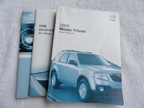 2008 mazda tribute owners manual amazon com books rh amazon com 2008 Saab 9 7X 5.3I 2009 Saab 9 7X Problems