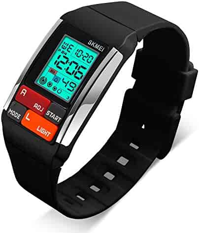 Kids Watches Boy Girl Digital Sports Waterproof Wrist Watch with Alarm for Child